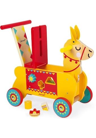 Janod Lauflernhilfe »Lama«, zum Schieben mit Sortierspiel kaufen