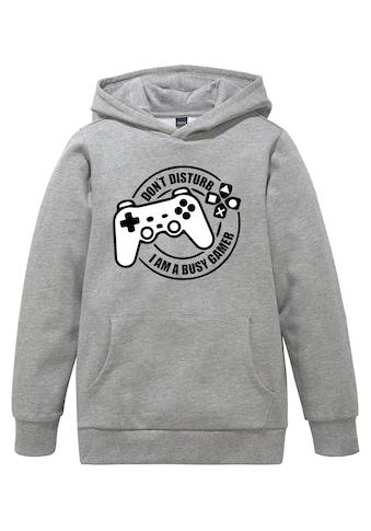 Arizona Kapuzensweatshirt »BUSY GAMER« acheter