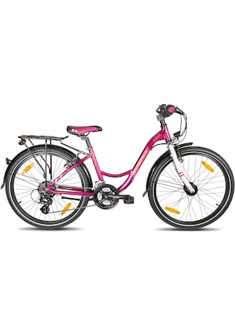 PROMETHEUS BICYCLES Jugendfahrrad »PURPLE Hawk«, 21 Gang Shimano Shimano ALTUS Kettenschaltung Schaltwerk, Kettenschaltung kaufen