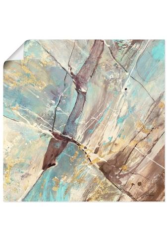 Artland Wandbild »Blaues Wasser II«, Gegenstandslos, (1 St.), in vielen Grössen &... kaufen