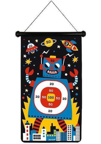 Janod Spiel »Magnetisches Dartspiel - Roboter« kaufen