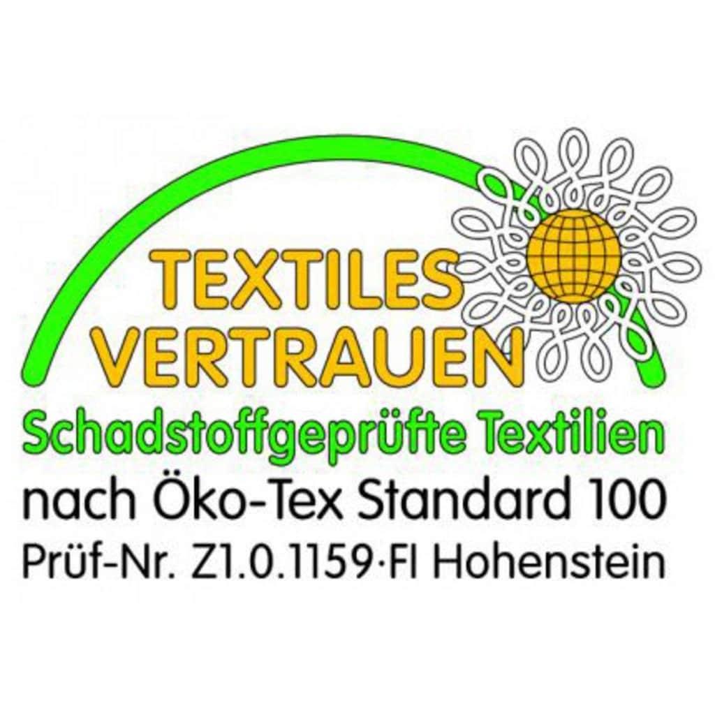 Balette Kopfkissen »Nackenrolle Balette, »Kleinteile««, Füllung: 100% Polyester-Faserflaum, Bezug: 100% Baumwolle, (1 St.)