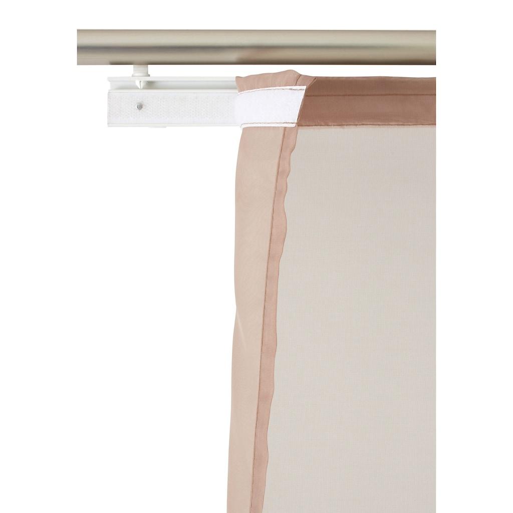 my home Schiebegardine »Xanten«, Inkl. Befestigungszubehör, Breite 57 cm