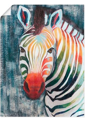 Artland Wandbild »Prisma Zebra II« kaufen