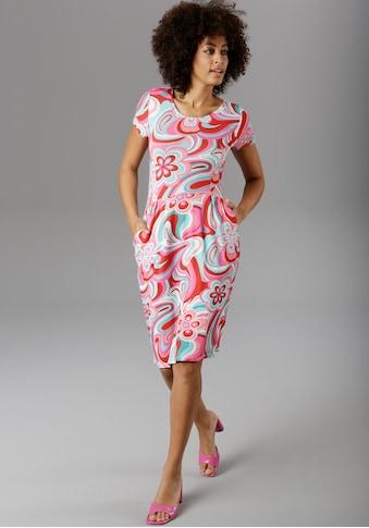 Aniston SELECTED Sommerkleid, in Knallfarbe kaufen