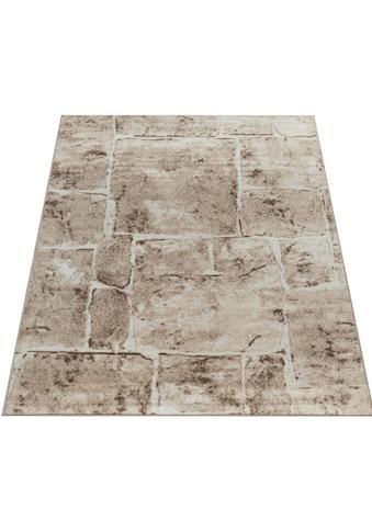 Paco Home Teppich »Sinai 050«, rechteckig, 9 mm Höhe, Kurzflor mit Stein-Optik,... kaufen