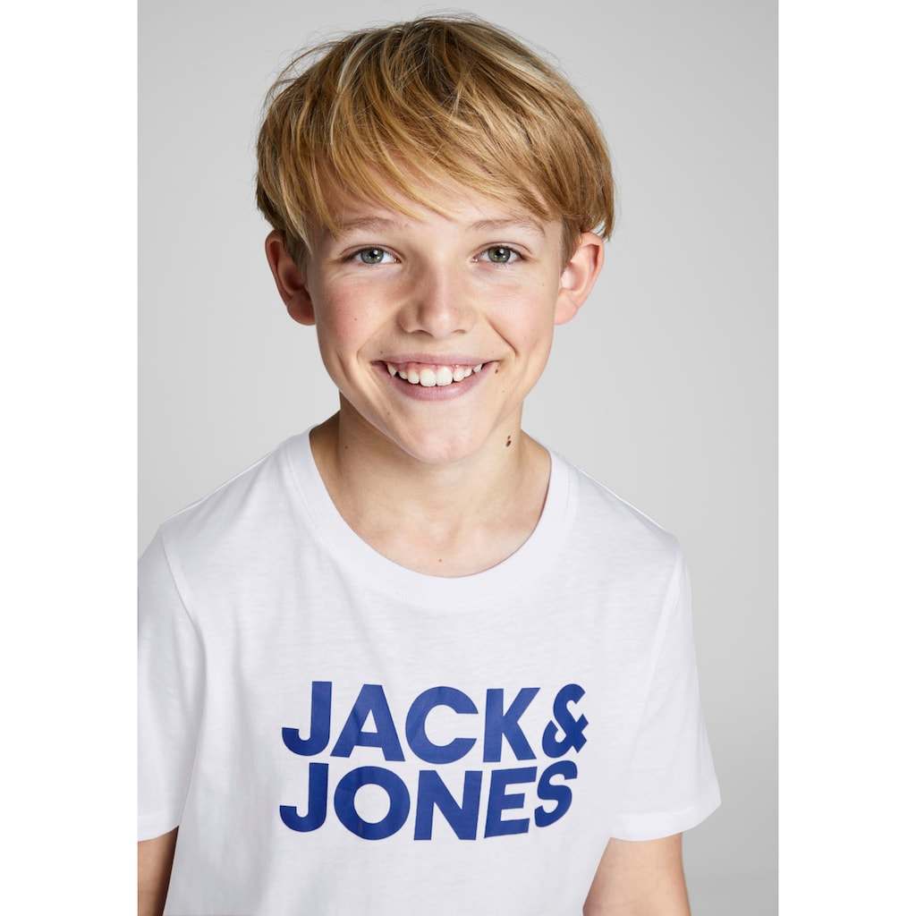 Jack & Jones Junior T-Shirt »JJECORP LOGO TEE SS CREW«
