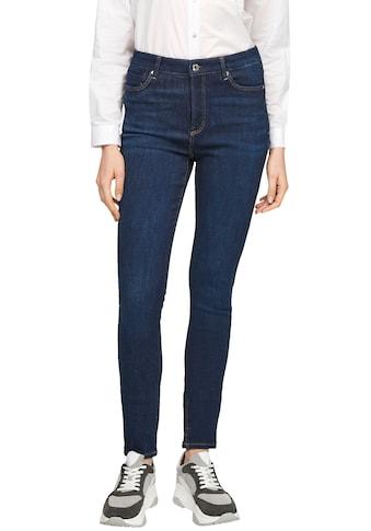 s.Oliver Skinny-fit-Jeans, in klassischer Waschung kaufen