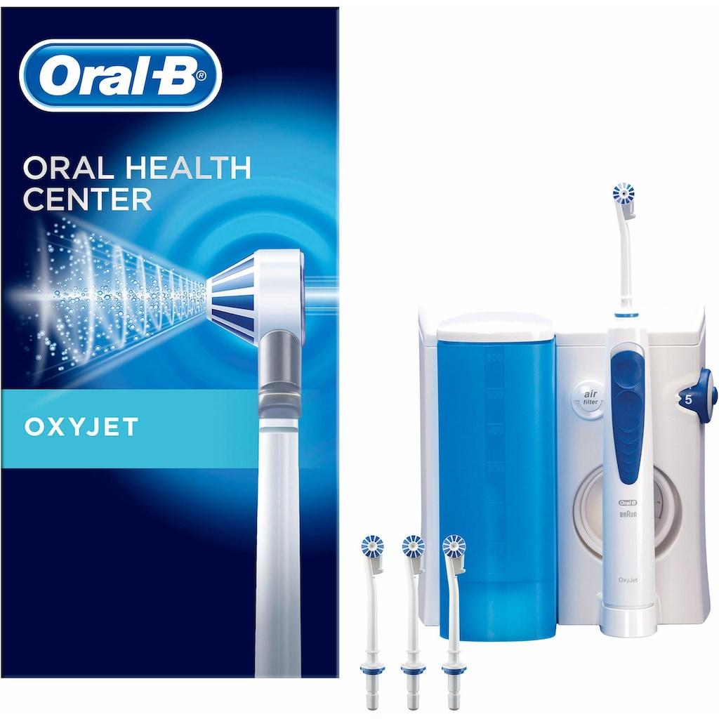 Oral B Munddusche »OxyJet«, 4 St. Aufsätze}