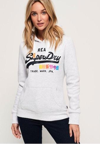 Superdry Kapuzensweatshirt »VINTAGE LOGO POP ENTRY HOOD« kaufen