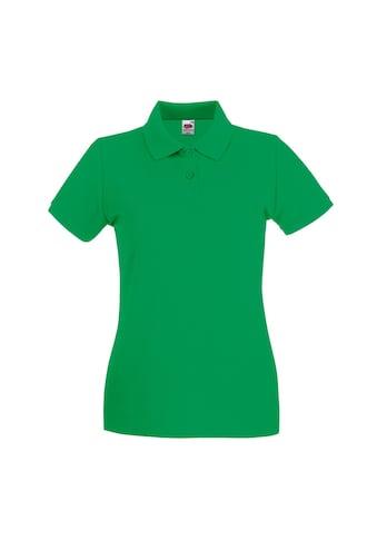 Fruit of the Loom Poloshirt »Damen Lady-Fit Premium« kaufen