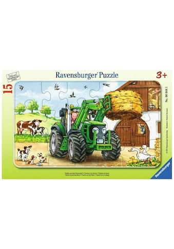 Ravensburger Puzzle »Traktor auf dem Bauernhof« kaufen