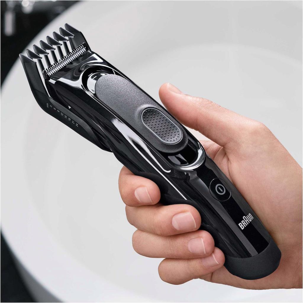Braun Haar- und Bartschneider »HC5090«, 2 Aufsätze, ultimatives Haareschneiden mit Braun in 17 Längen