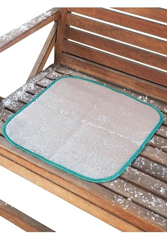Wenko Thermo-Sitzkissen bietet Schutz vor Nässe und Kälte kaufen