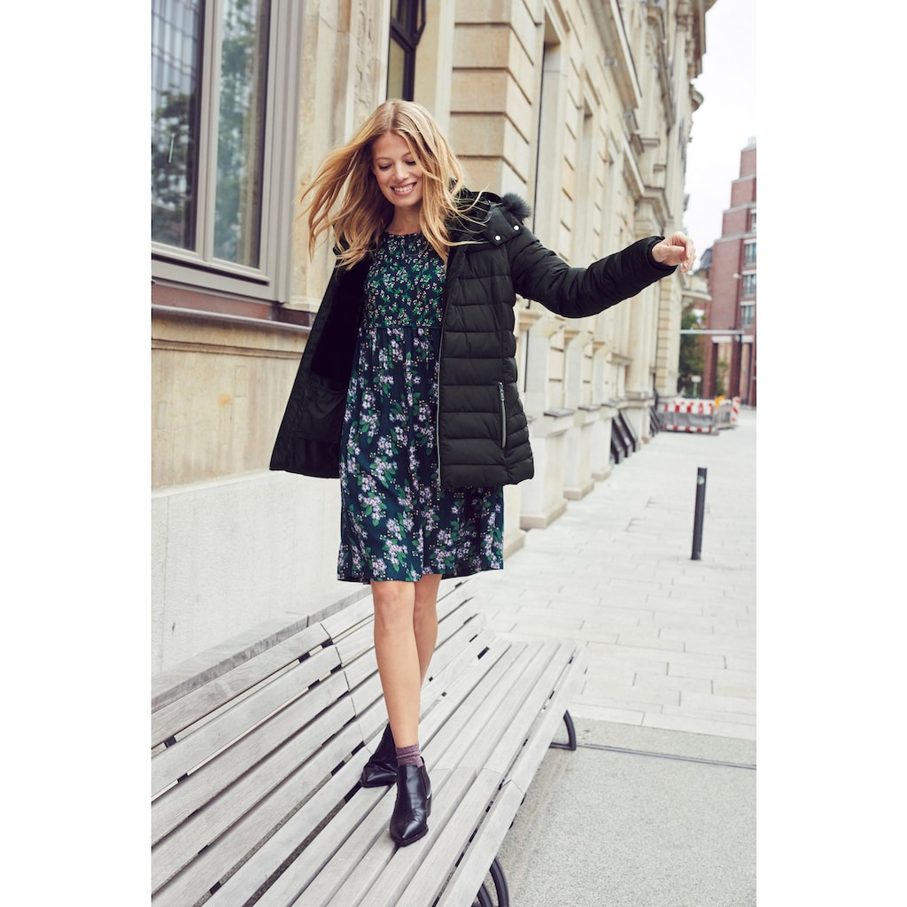 Aniston CASUAL Steppjacke, mit abnehmbarer Kapuze