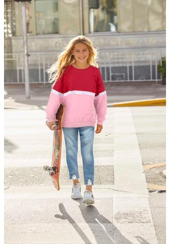 KangaROOS Sweatshirt, sehr weite Form mit Logodruck kaufen