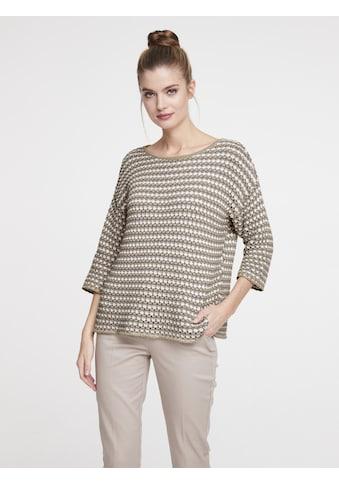 Pullover mit Struktur kaufen