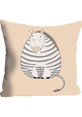 """Kissenhülle """"»Zebra«"""" queence kaufen"""