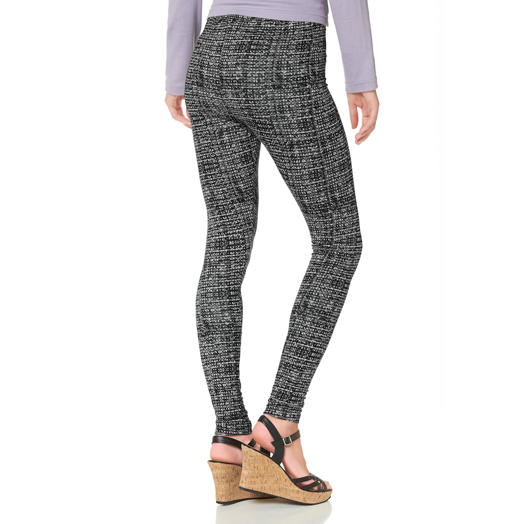 Boysen's Leggings, mit Alloverdruck