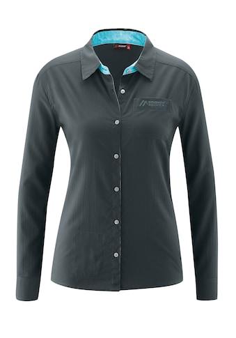 Maier Sports Funktionsbluse »Amira L/S«, Leichte, sommerliche Bluse mit hoher... kaufen