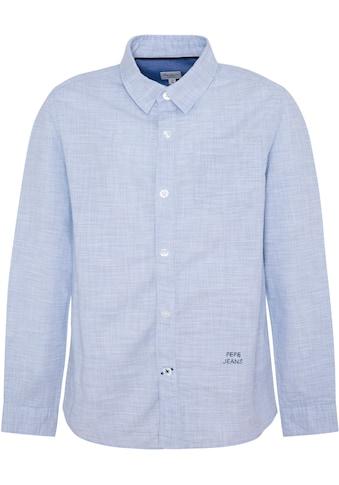 Pepe Jeans Langarmhemd »ETHAN« kaufen