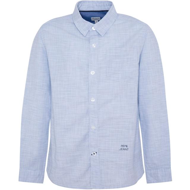 Pepe Jeans Langarmhemd »ETHAN«