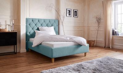 Guido Maria Kretschmer Home&Living Polsterbett »Sunley 140«, Kreuzsteppung im... kaufen