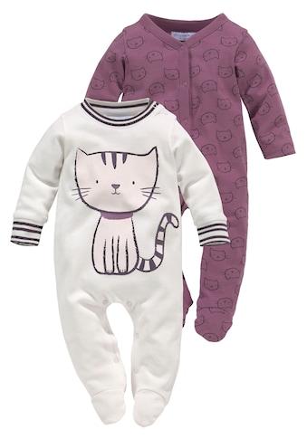 Klitzeklein Schlafoverall »Meow Magic«, aus Bio-Baumwolle kaufen