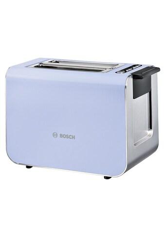 Styline Edelstahl Kompakt Toaster, Bosch kaufen