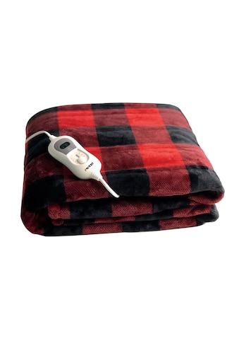 Wärme -  und Kuscheldecke rot/schwarz, Rotel kaufen