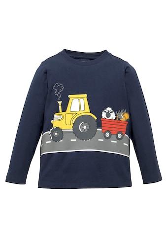 KIDSWORLD Langarmshirt »TREKKER ON THE ROAD« kaufen