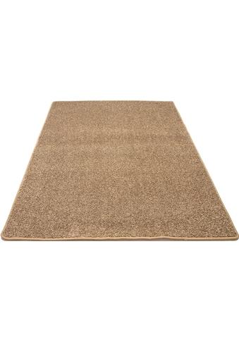 Andiamo Teppich »Shaggy uni«, rechteckig, 15 mm Höhe, Wohnzimmer kaufen