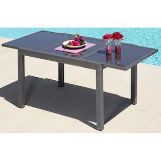 Merxx Gartentisch Amalfi Aluminium Ausziehbar