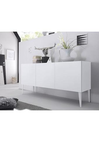 Places of Style Sideboard »Zela«, 3-türig, mit Füssen, Breite 184 cm kaufen