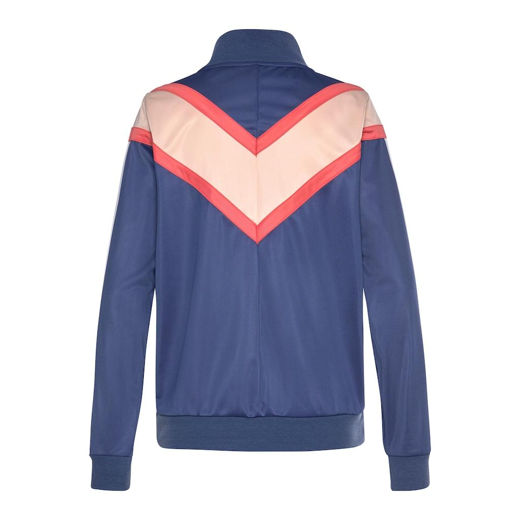 LASCANA Trainingsjacke »Colour Blocking«