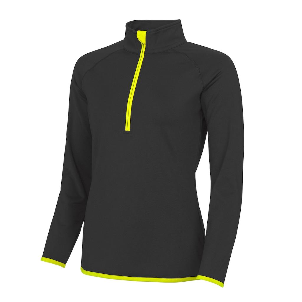 AWDIS Sweatshirt »Just Cool Damen mit Reissverschluss bis zur Brust«