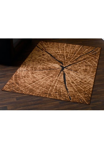 Teppich, »Baumstamm  - Optik«, HANSE Home, rechteckig, Höhe 9 mm, maschinell getuftet kaufen