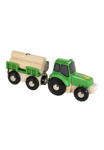 BRIO® Spielzeug-Auto »Traktor mit Holz-Anhänger« kaufen