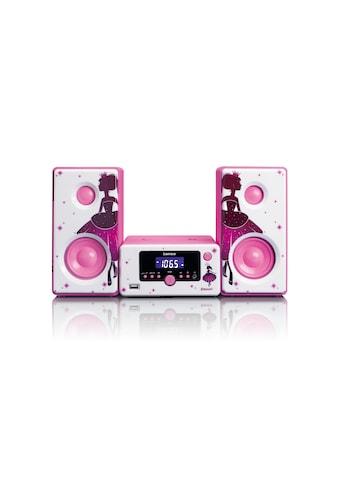 Lenco Microanlage »MC-020 Pink«, (Bluetooth FM-Tuner) kaufen