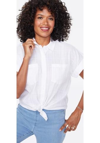 NYDJ Camp shirt »in Leinen« kaufen
