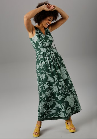 Aniston SELECTED Maxikleid, im farbharmonischen Druck kaufen