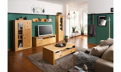 Home affaire Wohnwand »Agave«, (Set, 4-tlg.), aus massiver Kiefer kaufen