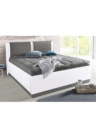 Westfalia Schlafkomfort Polsterbett, mit Bettkasten und Tagesdecke kaufen