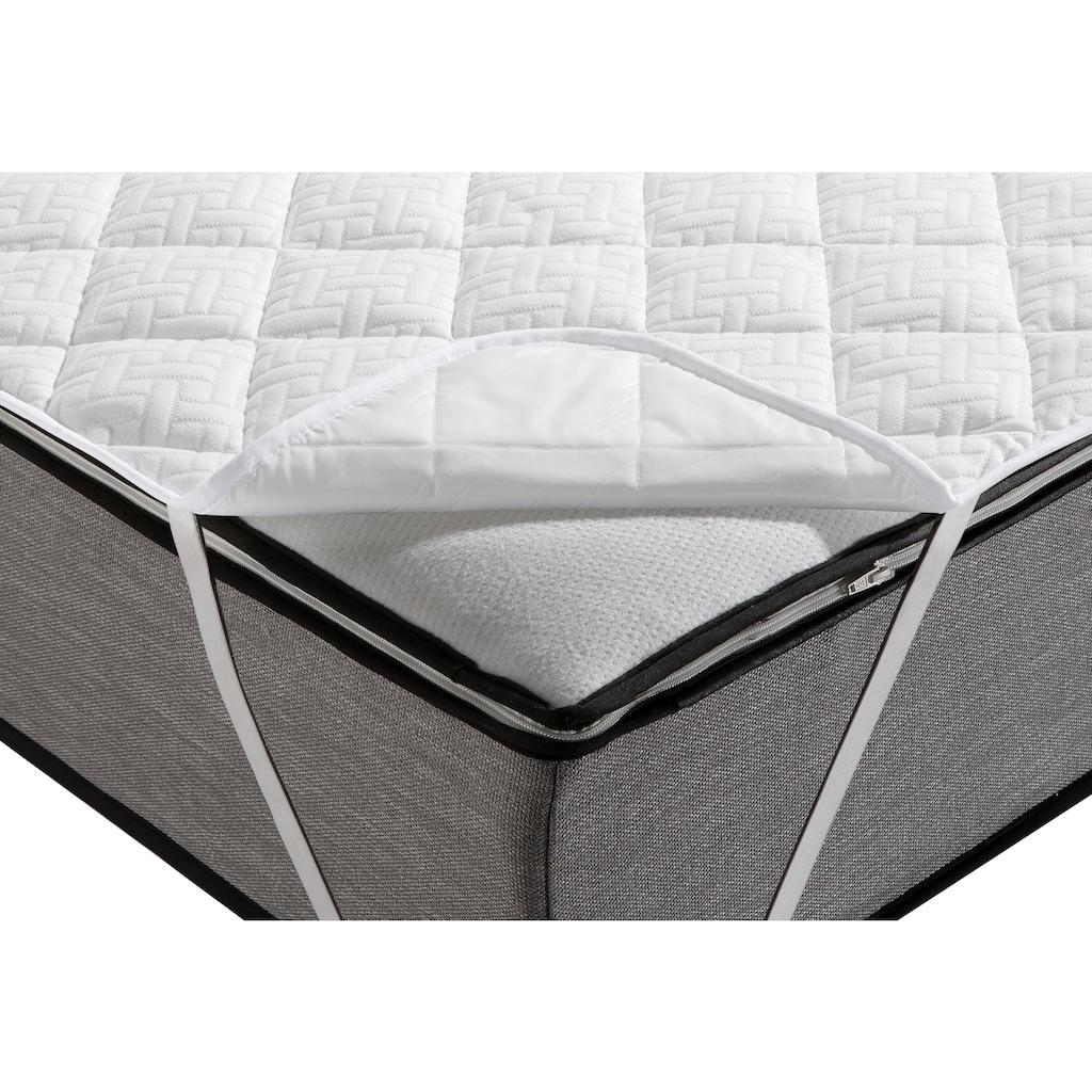 DELAVITA Matratzenauflage »Pit«, sorgt für zusätzliche Schlafhygiene