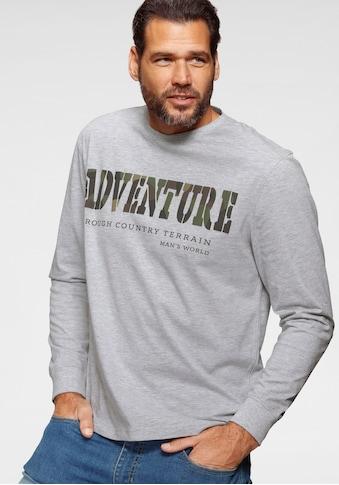 Man's World Langarmshirt kaufen
