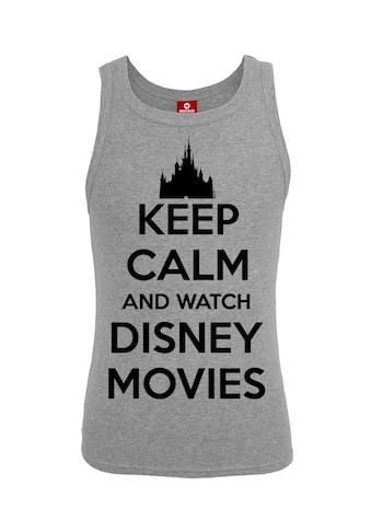 Disney Tanktop »Keep Calm And Watch A Disney Movie« kaufen