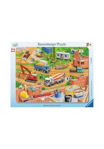 Ravensburger Puzzle »Arbeit auf der Baustelle« kaufen