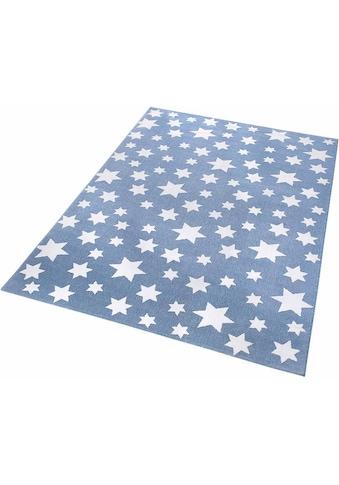 Wecon home Kinderteppich »Jeans Star«, rechteckig, 8 mm Höhe, Sterne kaufen