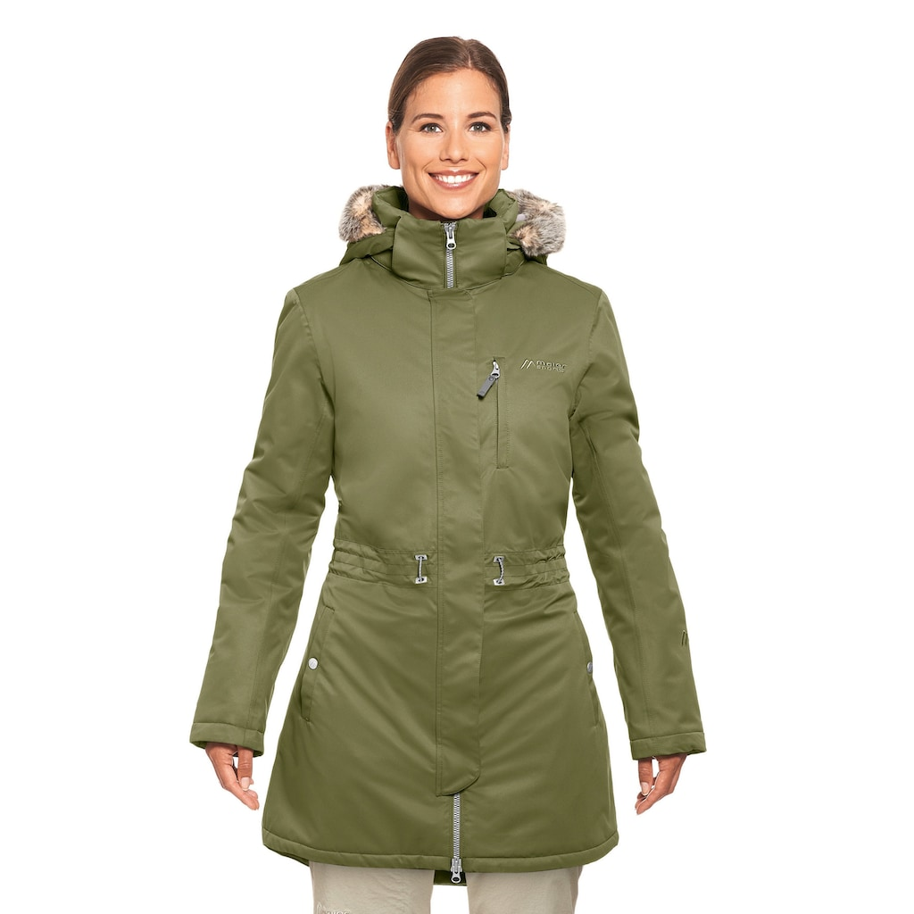 Maier Sports Funktionsjacke »Kerstin«, Warmer Wintermantel für kalte Tage