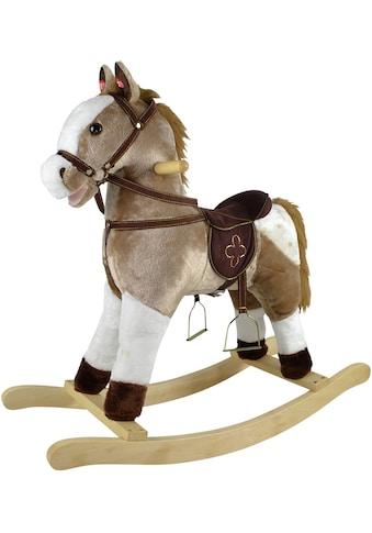 Knorrtoys® Schaukelpferd »Levi«, mit Sound kaufen